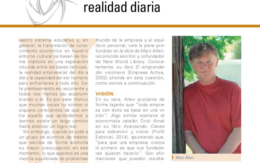 Marc Allen en Mundo Empresarial, por Argelia García