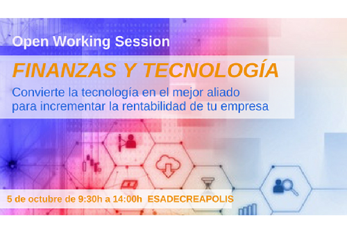 "Open Working Session ""Finanzas y tecnología"""