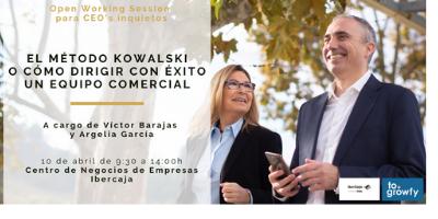 """Open Working Session """"El método Kowalski o cómo dirigir con éxito un equipo comercial"""" para CEO's inquietos (en Madrid)"""