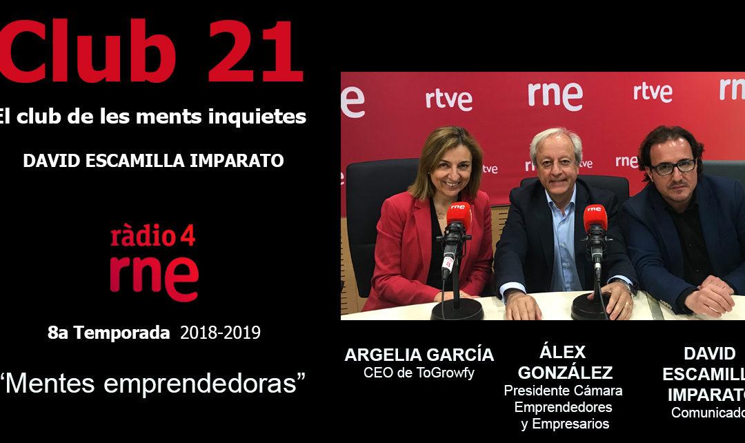 Entrevista a Argelia Garcia, CEO de ToGrowfy – RNE 16/06/2019