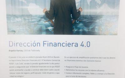 Dirección Financiera 4.0, por Argelia Garcia (en translation)