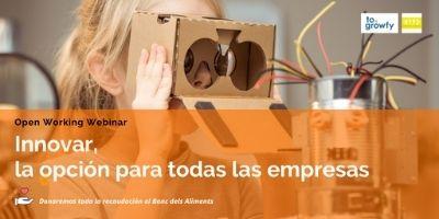 Open Working Webinar «Innovar, la opción para todas las empresas»