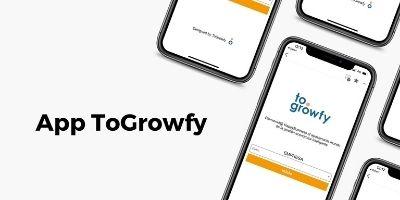 Nueva App ToGrowfy. Apúntate a una de las demos gratuitas.